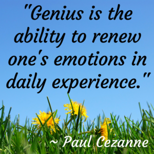 renew one's emotions in daily experience