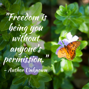 Freedom is Being You Without Anyone's Permission