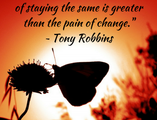 Is the Pain of Staying the Same Greater Than the Pain of Change?